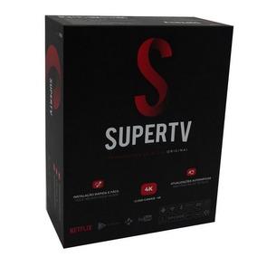 Supertv Box Smart Reprodutor De Midia