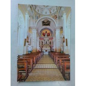 Cartão Postal - Interior Da Basílica - Canindé - Ce -