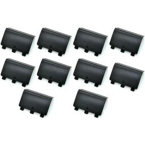 10 Tapas Para Bateria Pila Control De Xbox One Negras