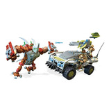 Dtt Juego Halo Forge Warthog 654pza Mega Construx