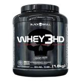 Whey 3hd 3w 1.8kg Conc Isolado Hidrolisado - Black Skull