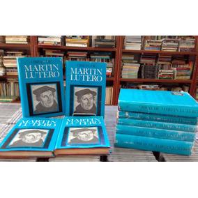 Obras De Martin Lutero 9 Volumes Espanhol (capa Dura)