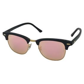 2be744f0157da Oculos Gatinho Espelhado Rosa Rayban - Óculos no Mercado Livre Brasil