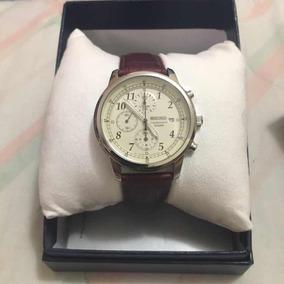 Reloj Seiko Chronograph De Cuarzo