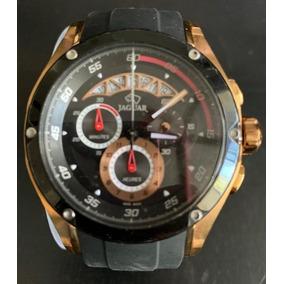 Reloj Jaguar Caballero Caucho Edicion Limitada