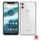 Smartphone Motorola One Branco 5.9 4g 64gb 13 Mp Nota Fiscal