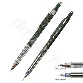 Kit 2 X Lapiseira Faber Castell Tk Fine 0,5mm 0,7mm