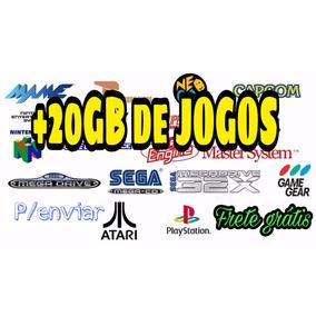Tv Box Android/ Jogos E Emuladores + De 20gb/ Envio P Email