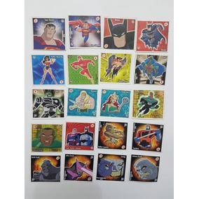 Figurinhas Stamp Liga Da Justica Elma Chips Completa Tazo
