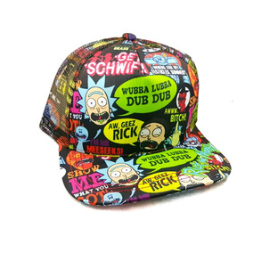 Gorra Juvenil Snapback Rick And Morty