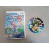 Mario Galaxy 2 Para Nintendo Wii En Perfectas Condiciones