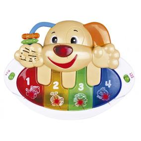 Teclado Dog Som E Luz - Beeme 2171