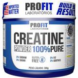 Creatina Mono-hidratada Pura 300g - Profit Labs