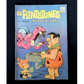 Gibi Antigo Os Flintstones. No. 1. Ano 1970. Ed. Cruzeiro.