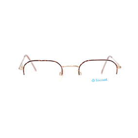 5b2c117de3134 Armação Oculos Tecnol Masculino Quadrado Meio Aro Oval Nylo