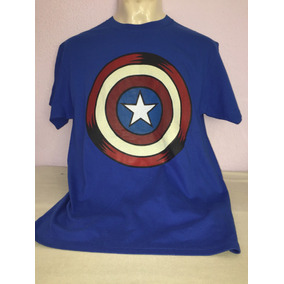Playera Avengers Capitán America. Importada Hot Topic
