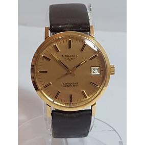 00fa4d11769 Relogio Longines Conquest Hi Beat Anos 70 Ouro 750 Automatic