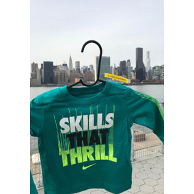 Playera Nike Niños T5-t7 Ml Skills That Thrill 76b351