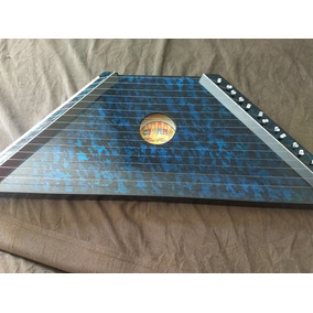 Mini Harpa Cítara Azul Nova 1ª+2ª Coletânea 20partituras