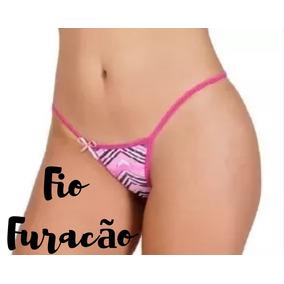 Calcinha Tanguinha Preta - Fio Dental Femininas no Mercado Livre Brasil 2a5f5d7dd56