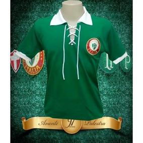 Camisa Retrô Palmeiras Cordinha Palestra Italia . R  89 90 fab3660f5c5c1