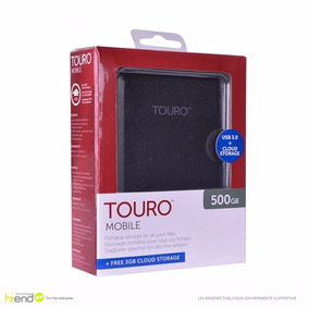 Disco Duro Externo Hitachi 500gb Touro Usb 3.0 2.0 Hi End