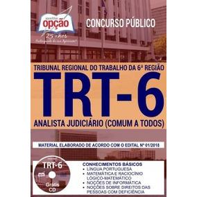 Apostila Trt 6 2018 - Analista Judiciário (comum A Todos)