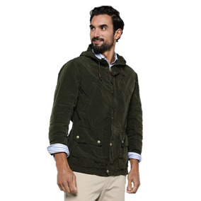 Chaqueta Casaca Forest Liso Savillerow Verde Exclusivo L/ Xl