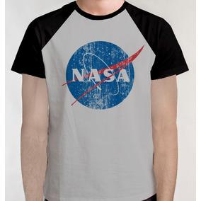0fef2d9ee Camiseta Nasa Feminina Camisetas Blusas Ceara Manga Longa ...