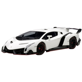 Lamborghini Veneno 2013 Branco Pérola 1:18 - Autoart 74507