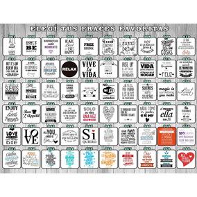 55 Etiquetas Transparentes Frascos Botellas Vasos Candy Bar