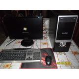 Pc Completa + Monitor Samsung 19 + Perifericos + Wifi