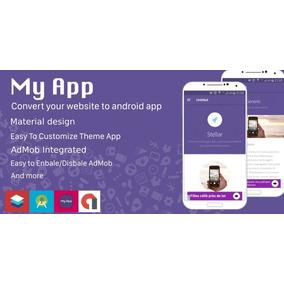 Script Site Para Android App - Material Design