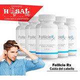 Tienda -60 Capsula Follicle Rx Caída Cabello Calvicie- Hosal