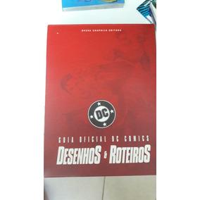 Box Guia Oficial Dc Comics Desenhos E Roteiros