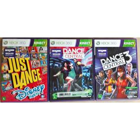 Jogos Just Dance Disney Dance Central Xbox 360 Frete Grátis