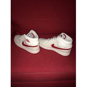596ba4534f321 Tenis Jordan Blanco Con Rojo Basquetbol Hombre - Tenis en Mercado ...