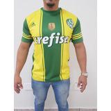 Camisa Palmeiras Amarela - Camisa Palmeiras Masculina no Mercado ... b0fd6edc714e4