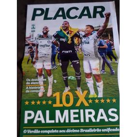 Poster Gigante Placar Palmeiras Deca Campeão Brasileiro 2018