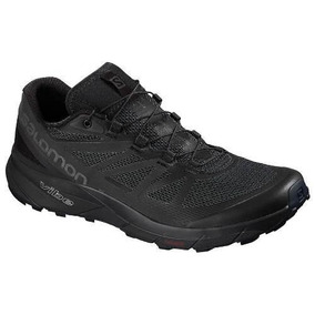 Tenis Salomon Sense Ride Negro Dama - Run24