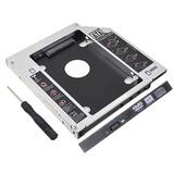 Caddy Case Segundo Disco Laptop Sata O Ssd Universal 9,5mm