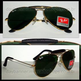 Óculos De Sol Ray Ban Caçador Preto - Óculos De Sol Com proteção UV ... b38dd592df