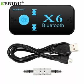 Adptador Receptor Bluetooth Auxilio Kit Suporte Tf Cartao