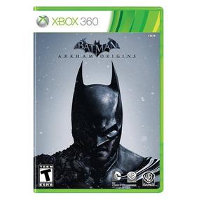 Batman Arkham Origins Xbox 360 Original Em Português