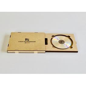 10 Caixas Mdf Para Cd Dvd E Pen Drive Ideal P/ Fotógrafos