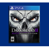 Darksiders 2 Ps4 Deathinitive Edition Disponible