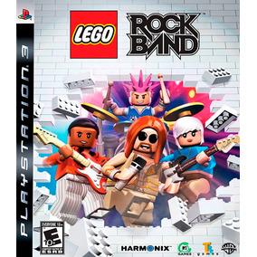 Lego Rock Band Ps3 Mídia Física Novo Reembalado