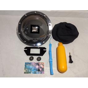 Dome Para Gopro 5 E 6 Black (uso Apena Com Cx Estanque )