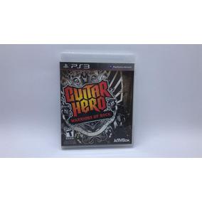 Guitar Hero Warrios Of Rock - Midia Fisica Cd Original - Ps3