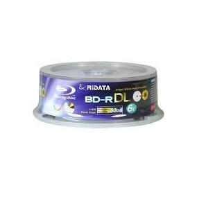 Blu Ray 50gb Ridata Printable Frete Grátis Envio Imediato